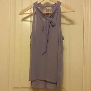 Sheer purple top - Forever 21 Contemporary